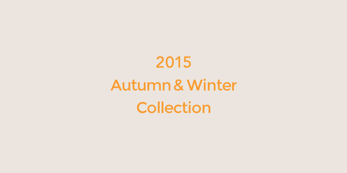 2015 A/W collection