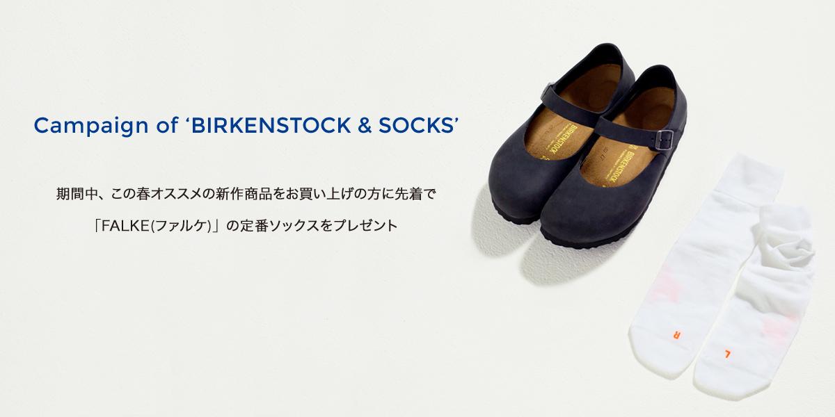Campaign of 'BIRKENSTOCK & SOCKS'